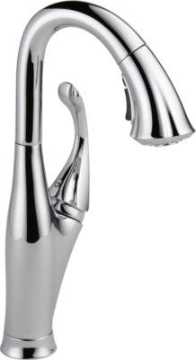 delta, kitchen faucet, pullout faucet
