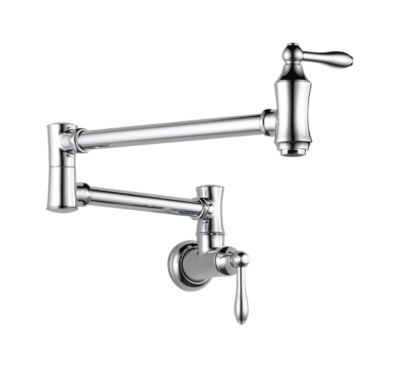 Traditional Pot Filler Faucet - Wall Mount
