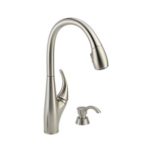 Deluca Single Handle Pull-Down Kitchen Faucet