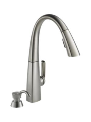 Arc Single Handle Pull-Down Kitchen Faucet