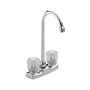 Classic Two Handle Knob Bar/Prep Faucet