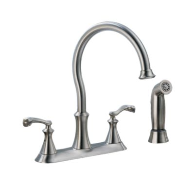 Vessona™ Two Handle Kitchen Faucet with spray