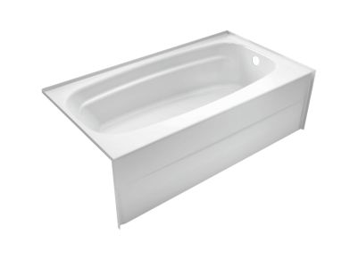 Styla 54in. x 30in. Acrylic with Innovex® Technology Bathtub