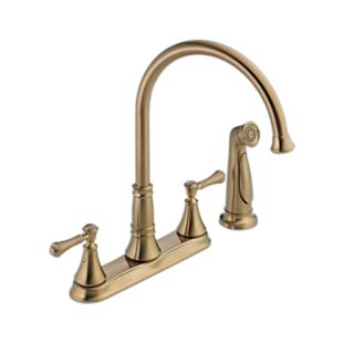 Cassidy Two Handle Kitchen Faucet with Spray