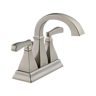 25717lf Ss Olmsted Two Handle Centerset Lavatory Faucet Bath Products Delta Faucet
