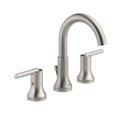 Trinsic Widespread Bath Faucet w/ metal pop-up