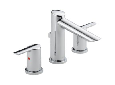 Compel Widespread Bath Faucet w/ metal pop-up