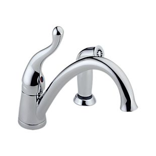 Talbott Single Handle Kitchen Faucet with Spray
