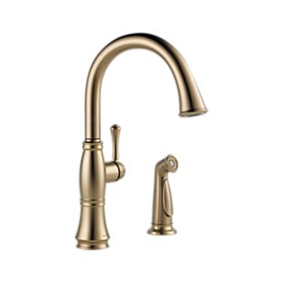 Cassidy Single Handle Kitchen Faucet with Spray