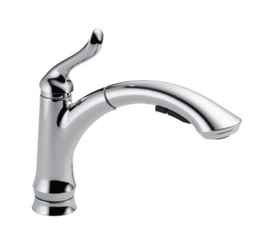 Linden Single Handle Water-Efficient Pull-Out Kitchen Faucet