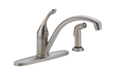 Collins™ Single Handle Kitchen Faucet with Spray