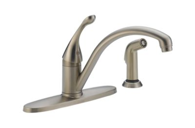 Collins™ Single Handle Water-Efficient Kitchen Faucet with Spray