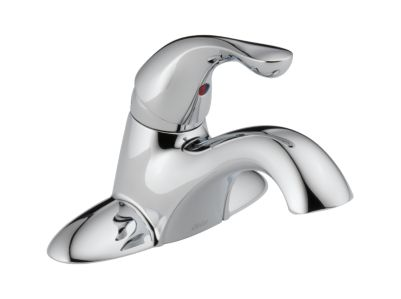 Classic Single Handle Centerset Lavatory Faucet - Less Pop-Up
