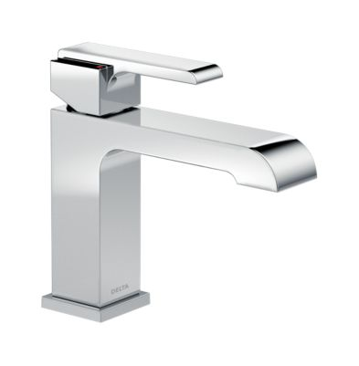 Ara Single Handle Single Hole Lavatory Faucet with 4″ Plate