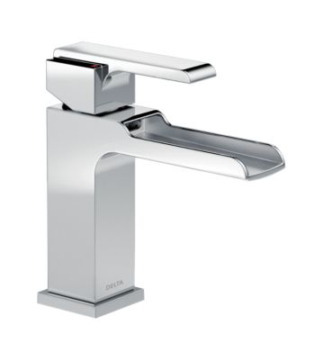 Ara Single Handle Single Hole Lavatory Faucet with Channel Spout