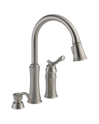 Lakeview Pull-Down Kitchen Faucet with Soap Dispenser