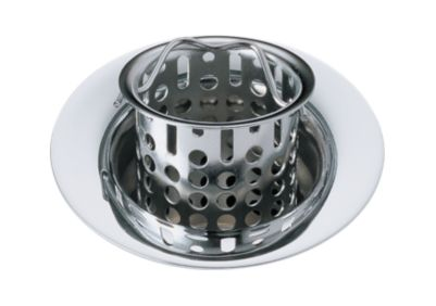 Delta Flange and Strainer - Bar/Prep Sink