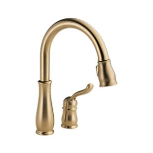 Leland Single Handle Water Efficient Pull-Down Kitchen Faucet