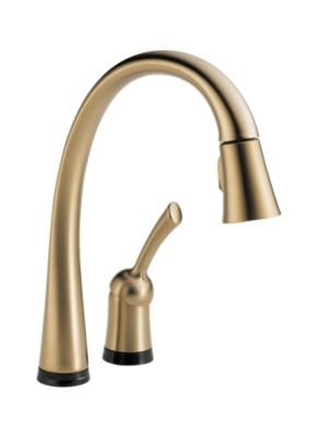Pilar Single Handle Pull-Down Kitchen Faucet with Touch2O® Technology