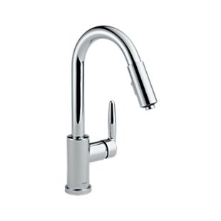 Grail Single Handle Pull-Down Kitchen Faucet