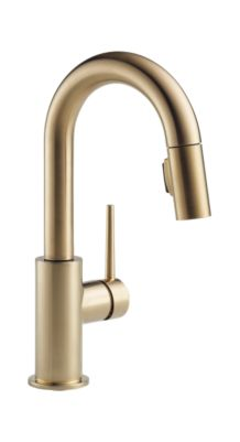Trinsic Single Handle Pull-Down Bar/Prep Faucet
