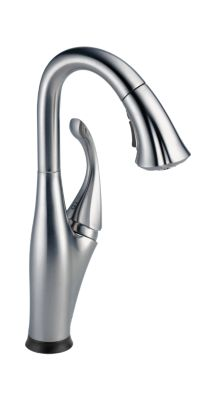 Addison Single Handle Pull-Down Bar/Prep Faucet with Touch2O® Technology