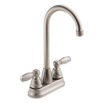 Two Handle Bar-Prep Faucet