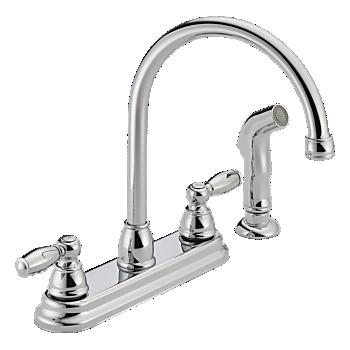 P299575lf Two Handle Kitchen Faucet Product Documentation