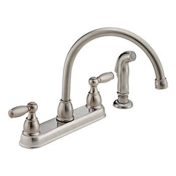 P99575 Ss Two Handle Kitchen Faucet Product Documentation Customer Support Peerless Faucet