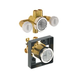 Delta Jetted Shower™ Rough-In Valve with extra Outlet (6-Setting)