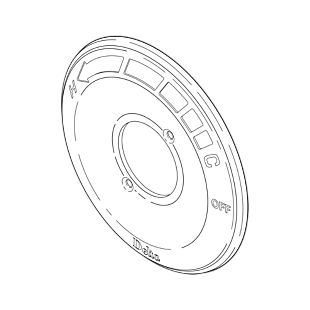 Delta Escutcheon - 13 and 14 Series