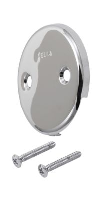 Delta Overflow Plate and Screws
