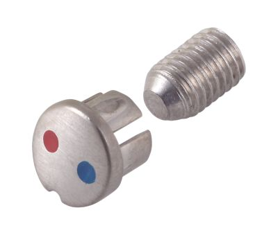 Delta Set Screw and Cover Button - Pull-Down Faucet