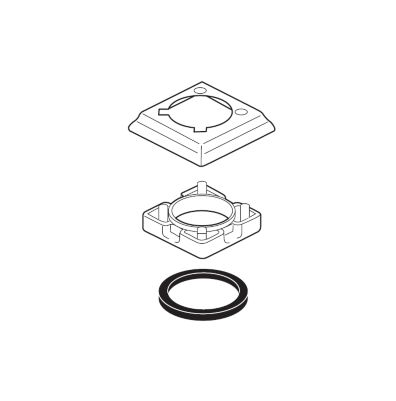 Delta Escutcheon - Single Hole