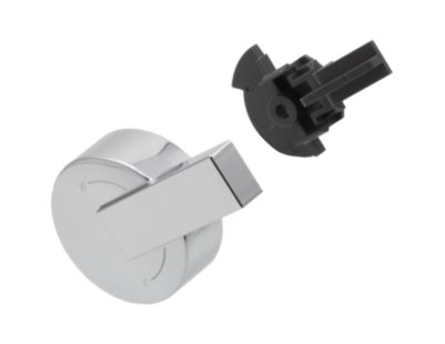 Delta Single Metal Lever Handle - Temperature Knob and Cover