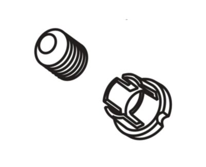 Delta Handle Set Screw and Button