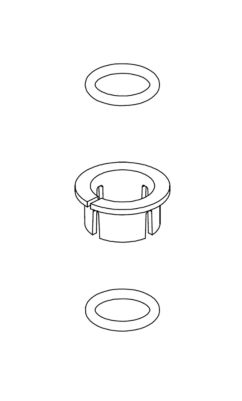 Delta Snap Ring and O-ring