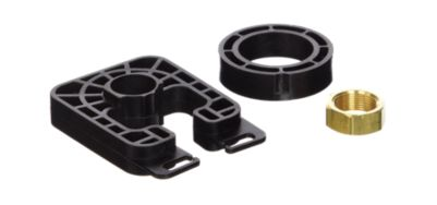 Delta Plastic Mounting Bracket and Nut