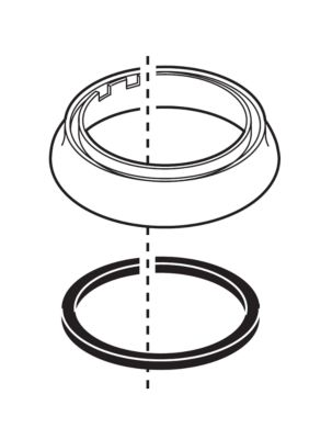 Delta Trim Ring and Gasket