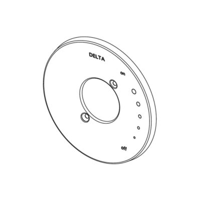 Delta Escutcheon/Seal - 17 Series Shower