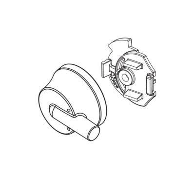 Delta Temperature Cap and Knob - 17 Series