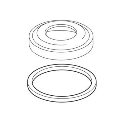 Delta Hand Shower Base and Gasket - Roman Tub