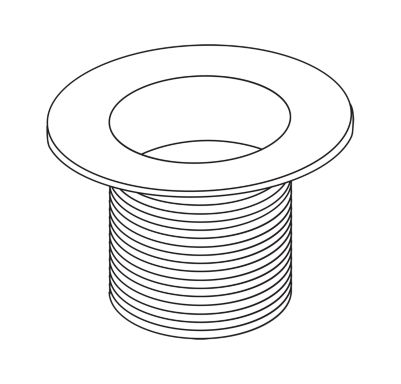 Delta Waste Plug - Dome Strainer