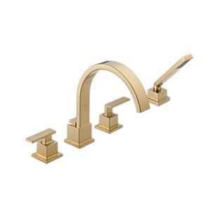 Vero Roman Tub With Hand Shower Trim