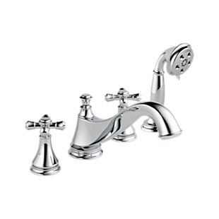 Cassidy Roman Tub w/ Hand Shower Trim - Low Arc Spout