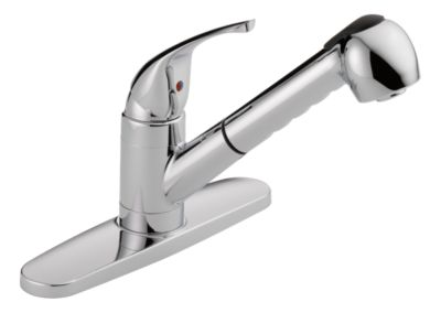 was15x single handle pull out kitchen faucet product
