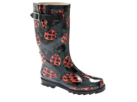 Chooka Lady Bug Skulls Rain Boot | DSW