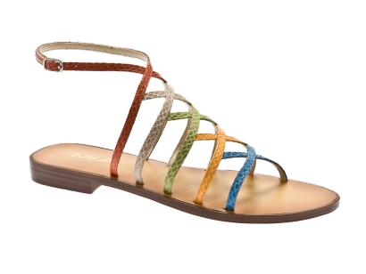 These are heaven for bright sandal lovers (ahem, me!) and guess what, they are only $21.99!