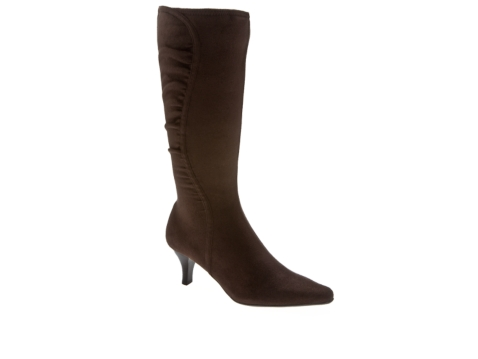 impo nyla stretch faux suede boot dsw