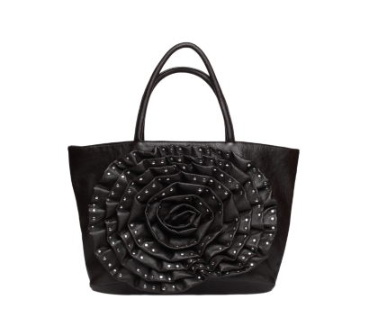 Poppie Jones Studded Rose tote